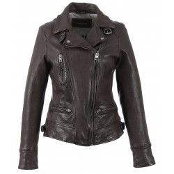 62065 - BLOUSON VIDEO MARRON
