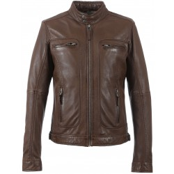 60901 - LIGHT BROWN JACKET CASEY