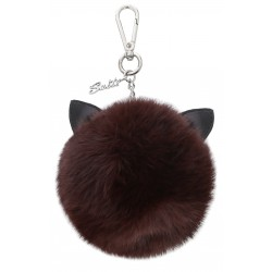 CATSY (REF. 62448) WHISKY - REAL FUR KEYRING