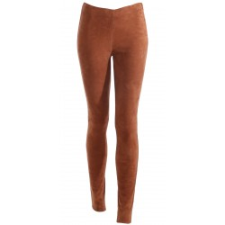 ANTARES (REF. 63018) WHISKY - GENUINE LEATHER TROUSERS