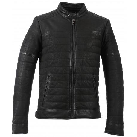 Oakwood Leather Noir 63022 Brand Blouson Cuir Gary The YxRxI1Hw