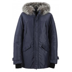 62923 - PETROL NYLON PARKA WELLINGTON