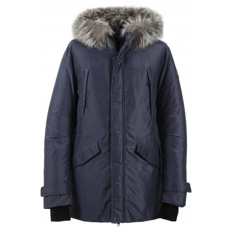 62923 - PARKA NYLON WELLINGTON PETROLE