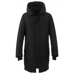 62921 - BLACK NYLON PARKA OAKLAND