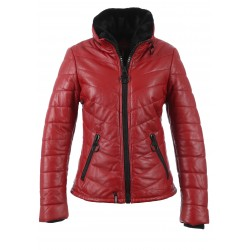 62942 - RED LEATHER JACKET LIFE