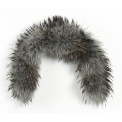 61595 - PALE BLUE FUR COLLAR TOY