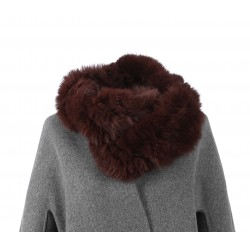 ROMY (REF. 62190) WHISKY – REAL FUR SNOOD