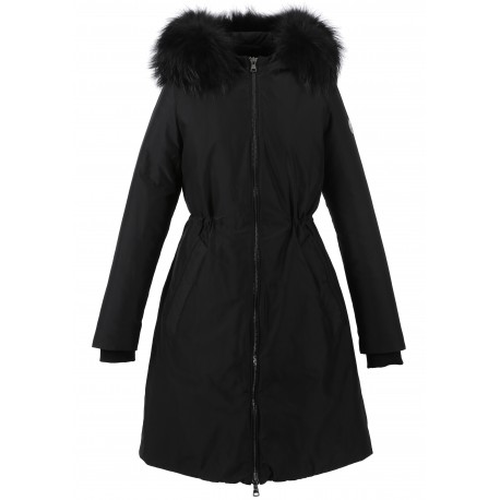 62919 - BLACK NYLON PARKA LIFT
