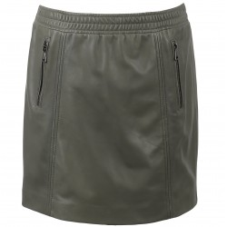 62964 - LIGHT KHAKI SKIRT ROOTS