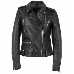63134 - BLACK LEATHER JACKET NIGHT