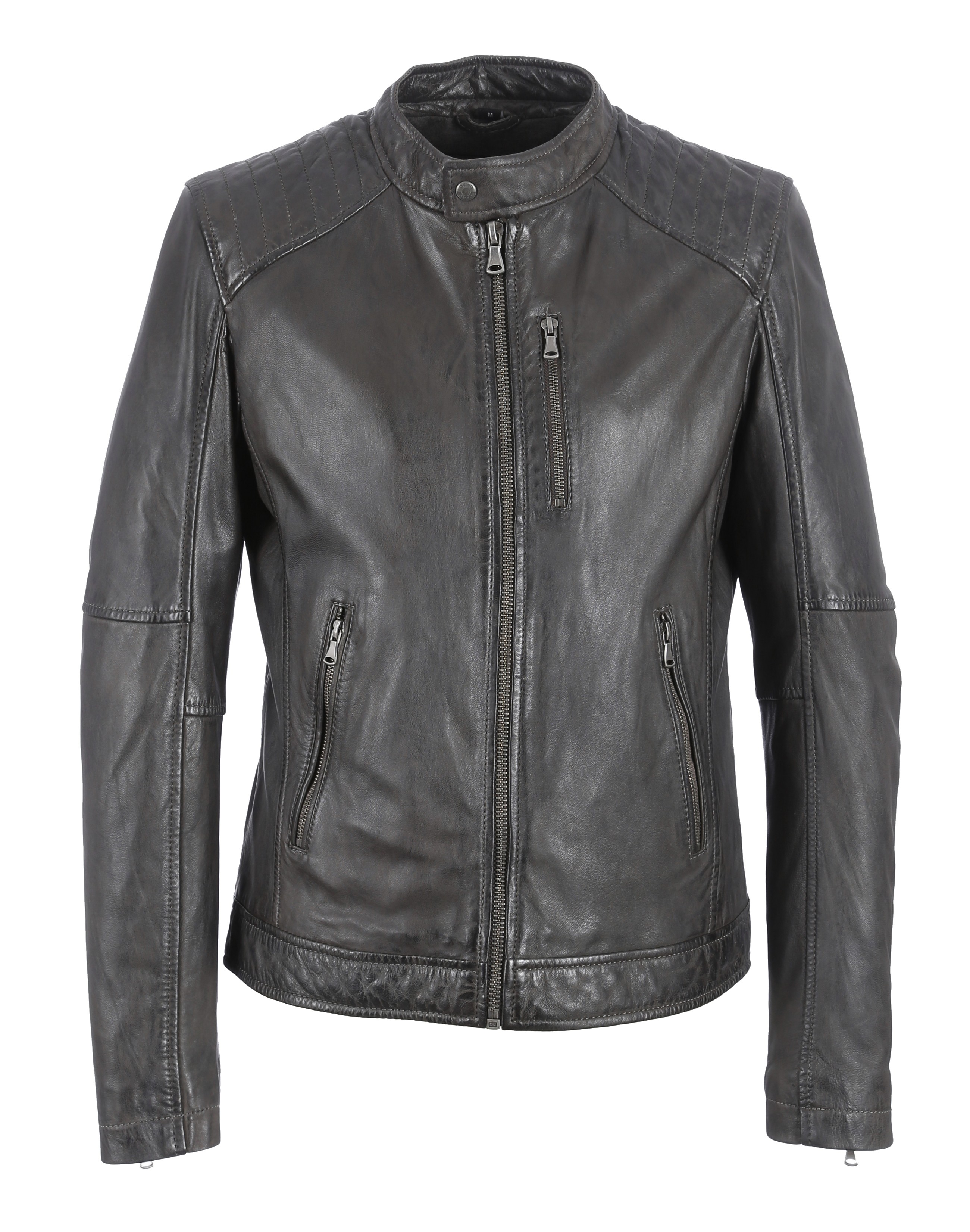 62058 - BLOUSON AGENCY MARRON - OAKWOOD - THE LEATHER BRAND 648bd151719b